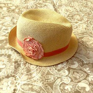 Linen Trimmed Sun Hat
